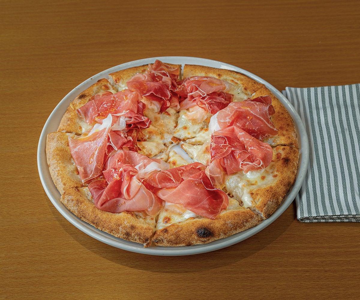 Ham & Stracciatella - Medium