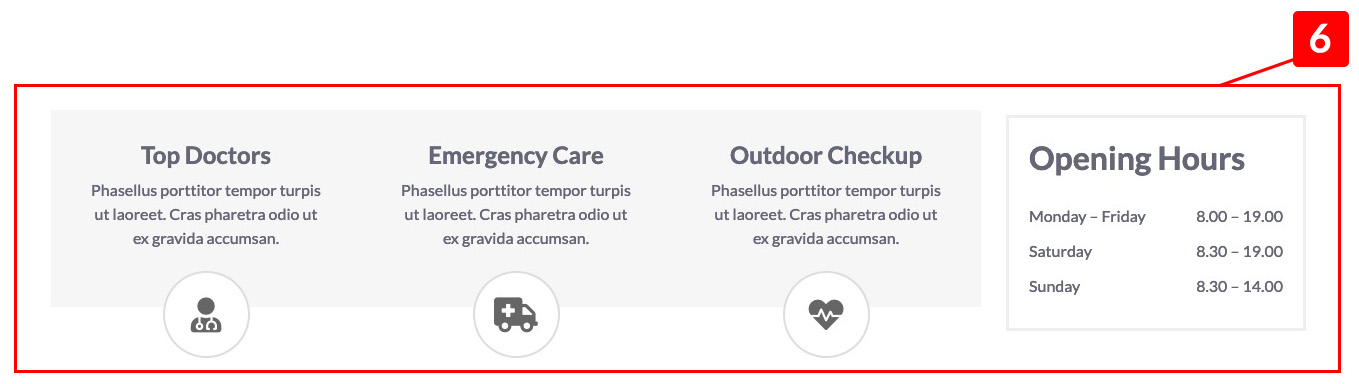 MediCenter Theme - Hp Services Container Sidebar